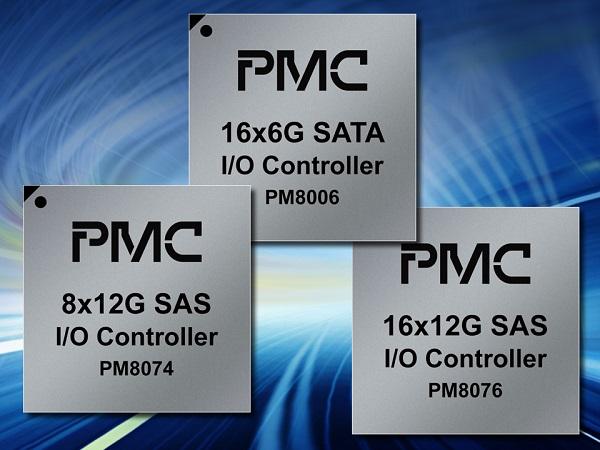 PMC推出16口高密度SAS及SATA 控制器